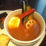92045718 - レンコンかぼちゃ等しっかり揚げ野菜が入ってます