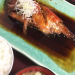 92048447 - 金目鯛の煮付け定食