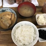 魚力 - サバ味噌定食 1,050円