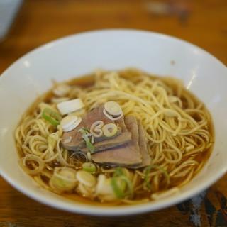 自家製麺 伊藤 - 料理写真:肉ソバ780円