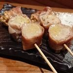 串焼き もんじろう - トリュフえのき串