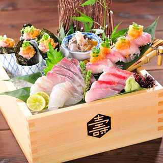 名物!「東京コトブキ海鮮盛合せ」