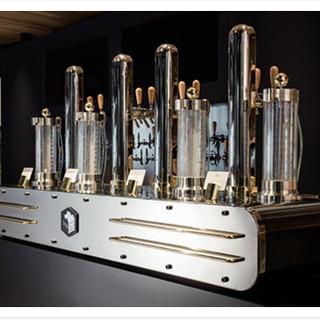 独自に開発したビールをカスタマイズできる高機能サーバー。