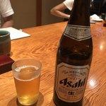 山さん寿司 - 瓶ビール