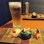 92051369 - 生ビールはスーパードライ