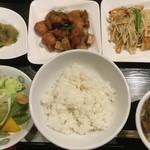 味の中華 羽衣 - ハーフ&ハーフランチ