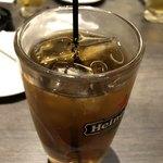 豚金 - ウーロン茶