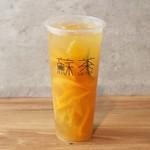 タピオカドリンク 蘇茶 - まるまるオレンジ
