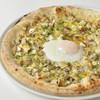ミア・アンジェラ - 料理写真:6種キノコと下川六〇酵素卵のピッツァビスマルク