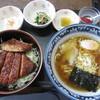 ラーメンまりちゃん - 料理写真:ソースかつ丼半ラーメンセット1350円