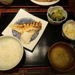 なかめのてっぺん - あこう鯛の西京焼き御膳(ご飯少なめ)