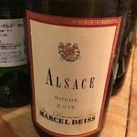 万両 南森町店 - 2015 Marcel Deiss Alsace Rouge