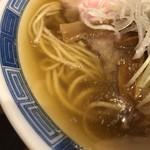 92058439 - 煮干しと鶏ガラのスープ