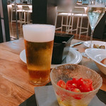 ガーブ ピンティーノ - ビール 美味しかったァ(≧∀≦)
