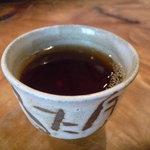 そば工房むもん - ☆お茶をゴクリ(^v^)☆