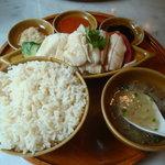 シンガポール海南鶏飯 汐留店 - 海南鶏飯