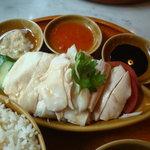 シンガポール海南鶏飯 汐留店 - 海南鶏飯UP