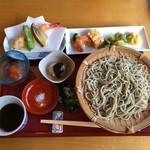 野の庵 - 江戸膳、2300円(税抜)