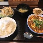 福來軒 - 料理写真:麻婆豆腐定食