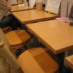 味壱 - テーブル