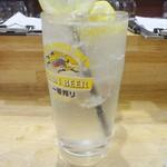 やきとん 焔屋 - ドリンク写真:生レモンサワー