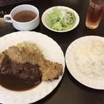 フローレット - ビーフカツレツ おまかせソース ¥950