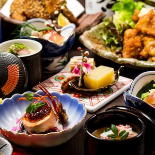 ◆季節食材の宴会コース◆地鶏宴会5000円⇒【4000円】