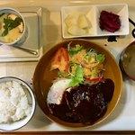 味工房 和 - 料理写真:手作りハンバーグ定食