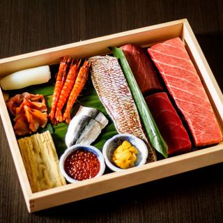 新宿一等地で「至福の寿司」をお楽しみ下さい。
