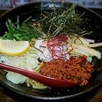商人らーめん - 料理写真:【まぜないそば】¥800