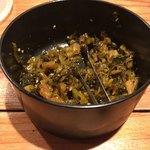 丸銀らーめん - 辛子高菜