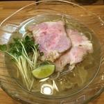 麺や 一想 - 冷やし(魚介塩)