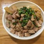 麺や 一想 - チャーシュー丼