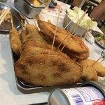 串カツ田中 - 食べ放題の最初に出て来る4串