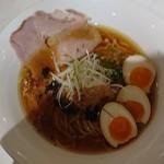 麺や 齋とう - 鶏旨味そば+味タマ♪