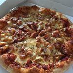 ドミノ・ピザ - アツアツです 美味しそう…