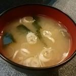 竹寿し - お味噌汁
