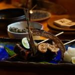 だいどこ大 - 秋刀魚の肝醤油焼き