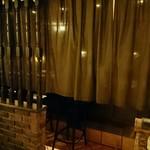 92093222 - カーテン奥に個室があります