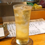 石臼挽き手打 蕎楽亭 - 竹鶴ピュアモルトのダブルのハイボール