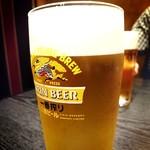 居酒屋 旬 - キリン一番搾り生ビール