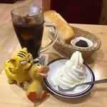 92096030 - クリームコーヒー540円(税込)+モーニングCセット