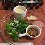 ヒトエ ナトゥーラ - ランチの前菜