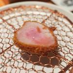 銀座かつかみ - ヒレ、肉汁が美味しい