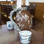 釜あげうどん 長田 in 香の香 - 釜揚げうどん汁