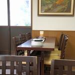 釜あげうどん 長田 in 香の香 - テーブル席
