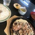 和楽路 - 料理写真:お好み焼きランチ