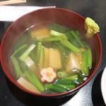 Momiji - 九条ネギと豆腐のくず煮