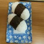 面館 - むすび ¥150