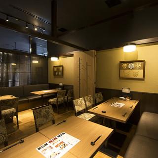 【個室最大42名様】旨い食事と美味い酒を、上質な和空間で。